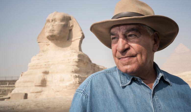 Archaeologist Zahi Hawass: The Sale of King Tut Sculpture Could Impact the  Egyptian-British Cultural Relationship | Majalla